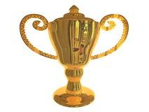 Gouden Trofee Royalty-vrije Stock Afbeeldingen