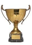 Gouden trofee Royalty-vrije Stock Foto's