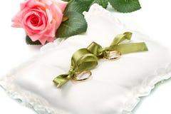 Gouden trouwringen Royalty-vrije Stock Fotografie