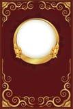 Gouden uitstekend frame Royalty-vrije Stock Fotografie