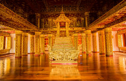 Gouden Uitstekend Heiligdom - Luang Prabang, Laos Royalty-vrije Stock Foto's
