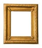 Gouden uitstekende omlijsting royalty-vrije stock afbeelding