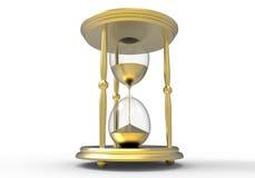 Gouden uurglas Royalty-vrije Stock Foto