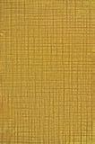 Gouden van de Textuur van de Folie Natuurlijke Macro Als achtergrond Royalty-vrije Stock Fotografie