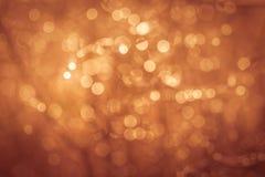 Gouden van de de zomeraard abstract concept als achtergrond, zachte nadruk Royalty-vrije Stock Fotografie