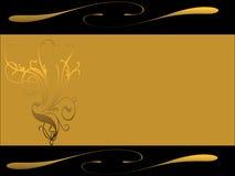 Gouden verbod Royalty-vrije Stock Fotografie