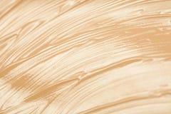 Gouden verftextuur Stock Afbeelding