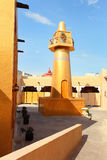 Gouden verticale moskee, royalty-vrije stock foto's