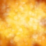 Gouden vieringsachtergrond - partijconcept Royalty-vrije Stock Foto
