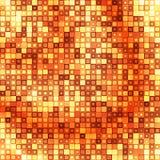 Gouden vierkante abstracte achtergrond Royalty-vrije Stock Fotografie