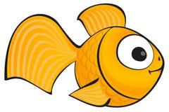 Gouden vissen stock illustratie