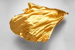 Gouden vliegende stof Stock Afbeelding