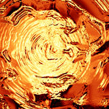 Gouden vloeistof Stock Fotografie