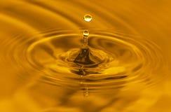 Gouden water royalty-vrije stock foto