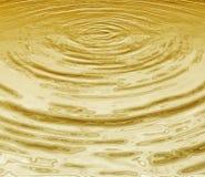 Gouden water Stock Fotografie