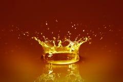 Gouden water royalty-vrije stock foto's