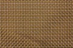 Gouden Wevende achtergrond Royalty-vrije Stock Afbeelding