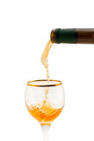 Gouden wijn Royalty-vrije Stock Foto's
