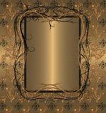 Gouden wijnoogst Stock Fotografie
