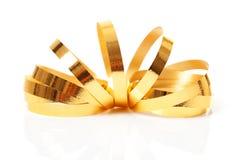 Gouden wimpel stock foto