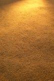 Gouden zand Royalty-vrije Stock Afbeeldingen