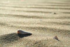 Gouden zand op strand 3 Stock Foto