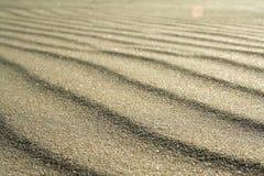 Gouden zand op strand 5 Royalty-vrije Stock Fotografie