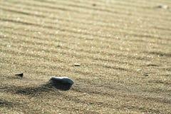 Gouden zand op strand 2 Stock Foto's