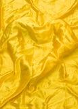 Gouden zijde Stock Afbeelding