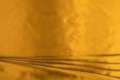 Gouden zijde Stock Afbeeldingen