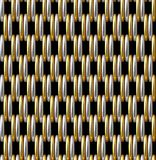 Gouden Zilveren Net Vector Naadloos Patroon Stock Afbeeldingen