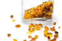 Gouden zonneschijn amber Royalty-vrije Stock Fotografie