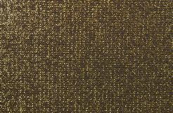 Gouden zwarte stoffentextuur Royalty-vrije Stock Afbeelding