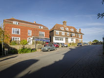 Goudhurst, Kent, Reino Unido fotografia de stock royalty free