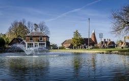 Goudhurst Village Pond Stock Images