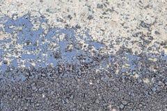 Goudron d'asphalte Photos stock
