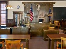 Goudveld, Nevada. Het gerechtsgebouw van de Provincie van Esmeralda Stock Afbeeldingen