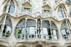 Gaudi windows Royalty Free Stock Photo