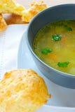 gougere σούπα στοκ φωτογραφίες με δικαίωμα ελεύθερης χρήσης