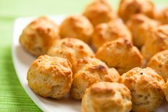 Gougeres Photographie stock