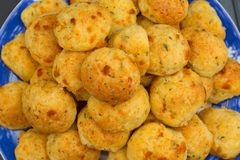 Gougeres Cheese And Herb French Puffs stock images