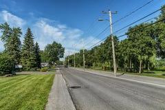 Gouin-Boulevard Stockfoto
