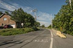 Gouin-Boulevard Lizenzfreie Stockfotografie