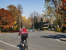 Gouin Boulevard Royalty Free Stock Images