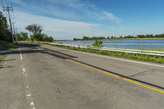 Gouin Boulevard East Stock Images