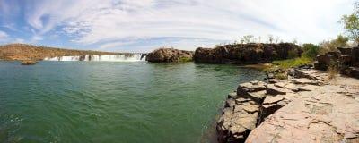 Gouina Falls or Chutes de Gouina in Mali Stock Image
