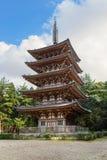 Goujonoto pagoda przy Daigo-ji świątynią w Kyoto Obrazy Stock
