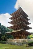 Goujonoto-Pagode an Daigo-jitempel in Kyoto Stockbild