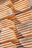 Goujons en bois frais Photos libres de droits