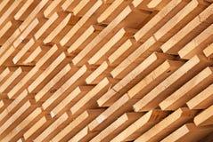 Goujons en bois frais Images stock